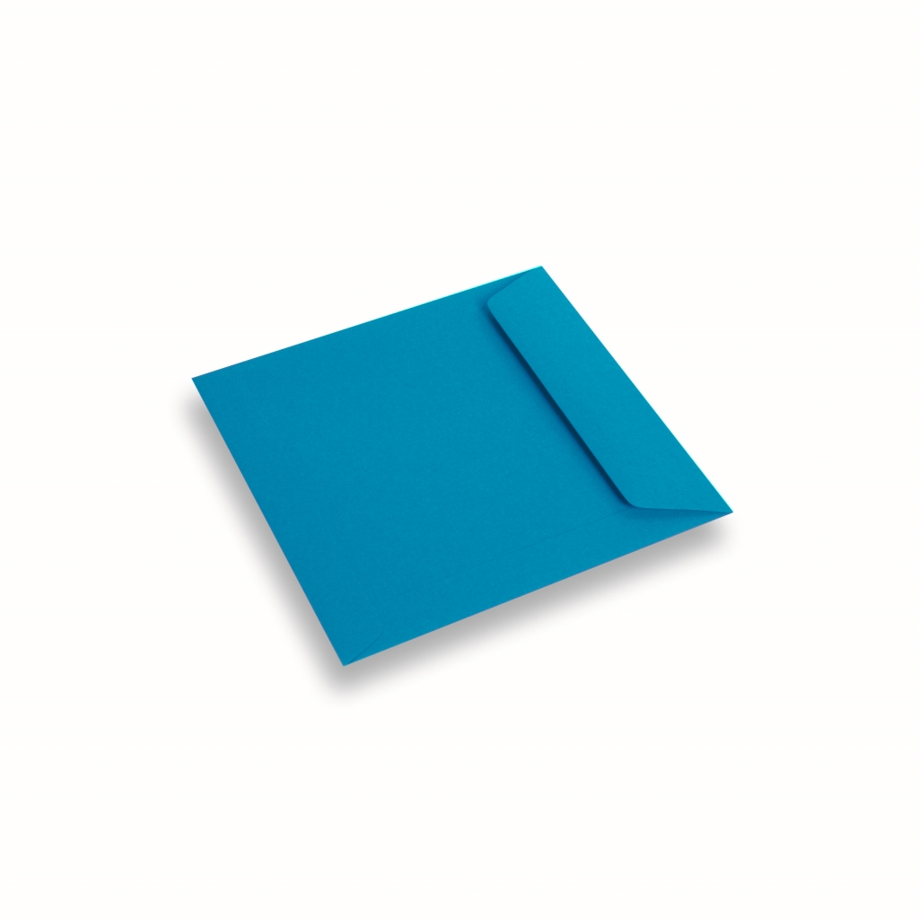 Coloured Paper Envelope Blue