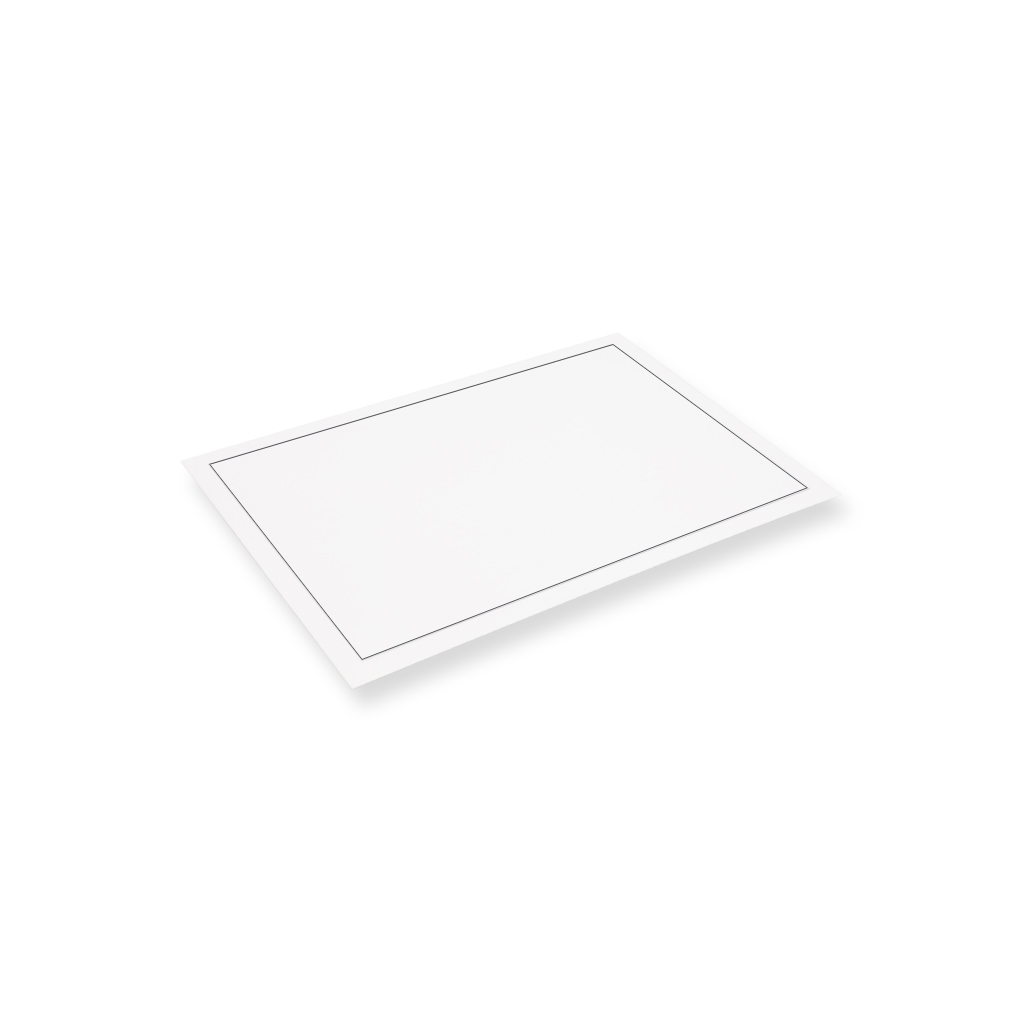 Mourning Envelope 120 mm x 180 mm White