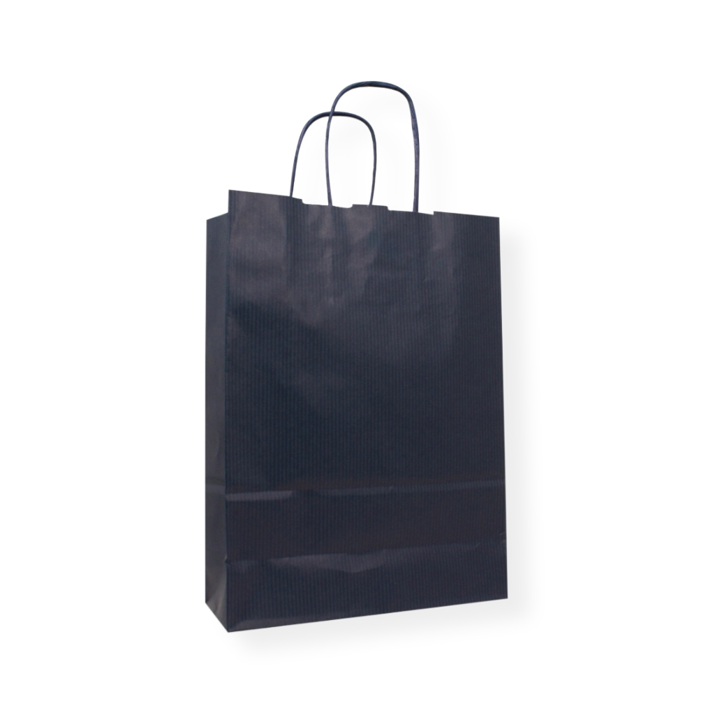 Paper Carrier bag 320 mm x 425 mm Blue