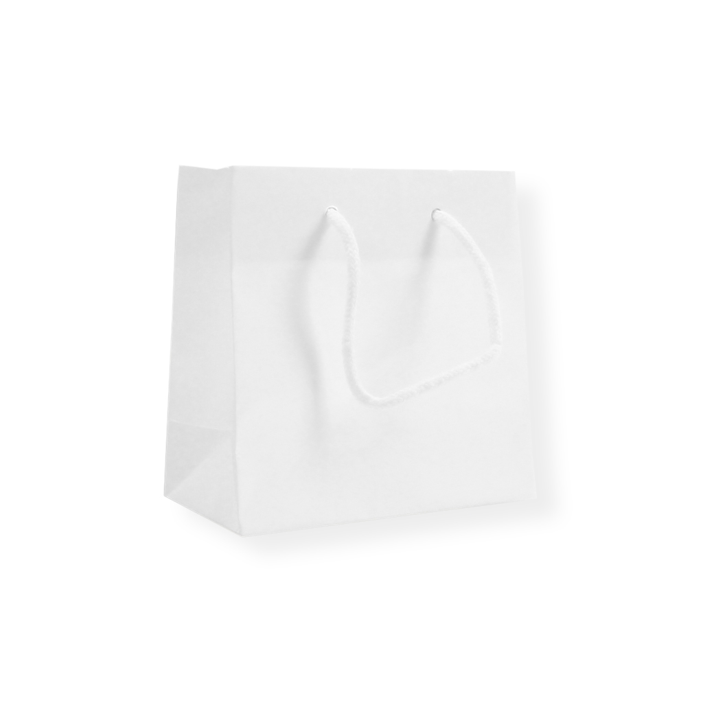Glossybag 140 mm x 140 mm White
