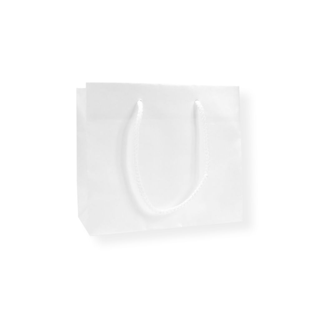 GlossyBag Pearl White 320 mm x 270 mm White