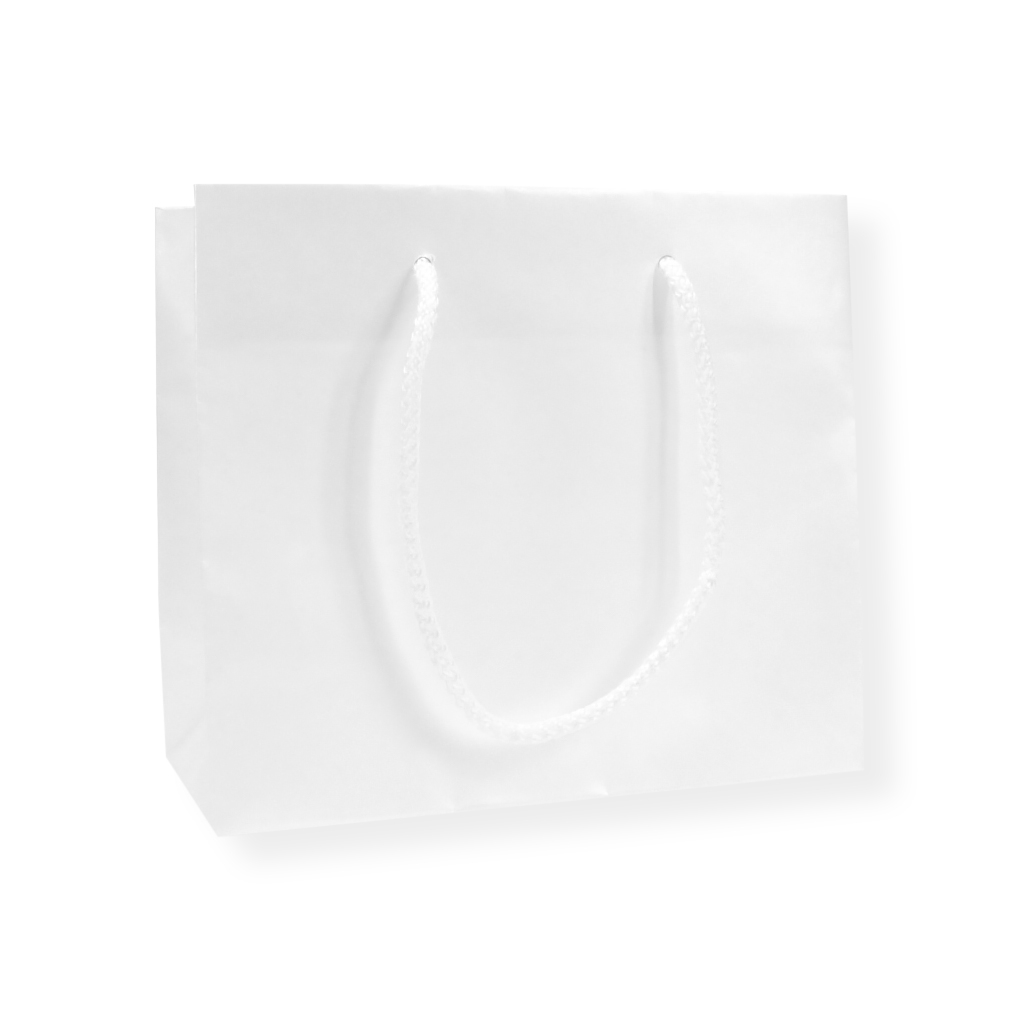 GlossyBag Pearl White 420 mm x 370 mm White