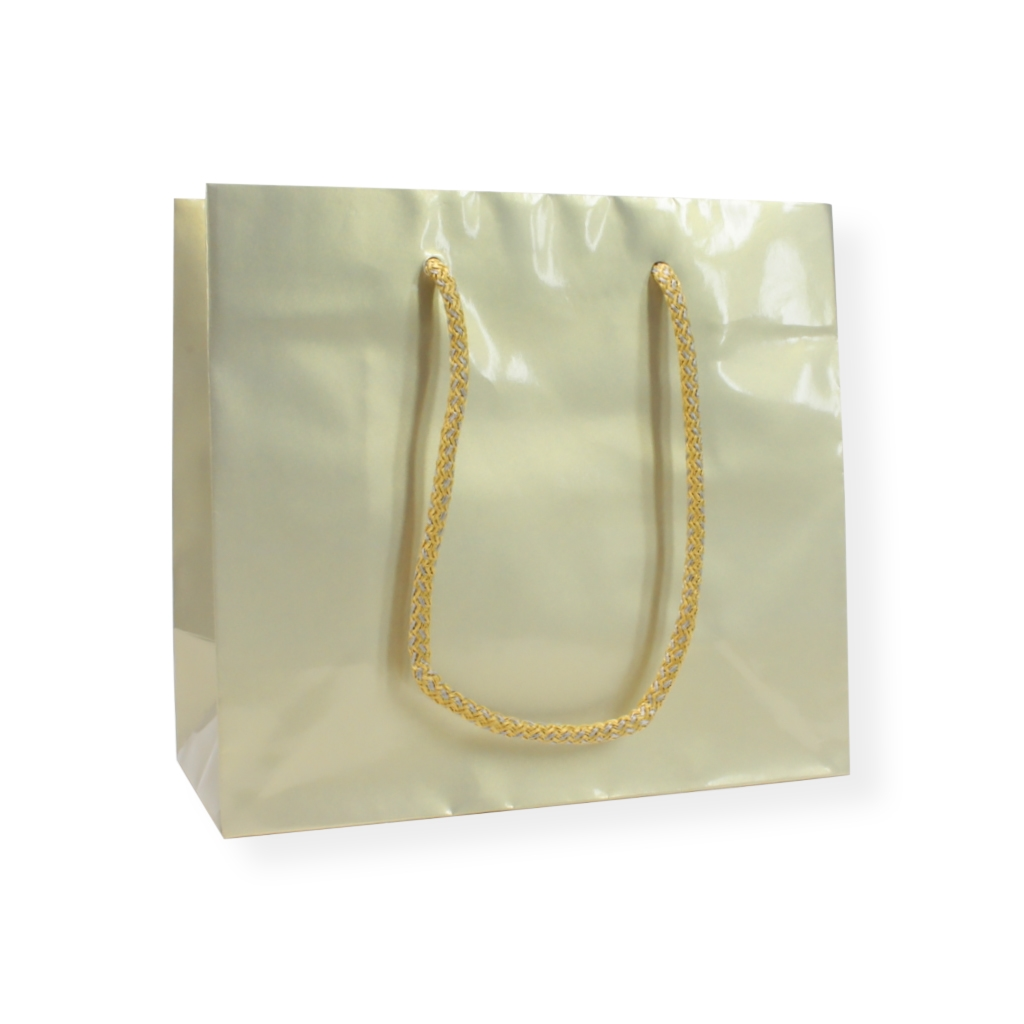 Glossy Bag Perlmutt 420 mm x 370 mm Gold