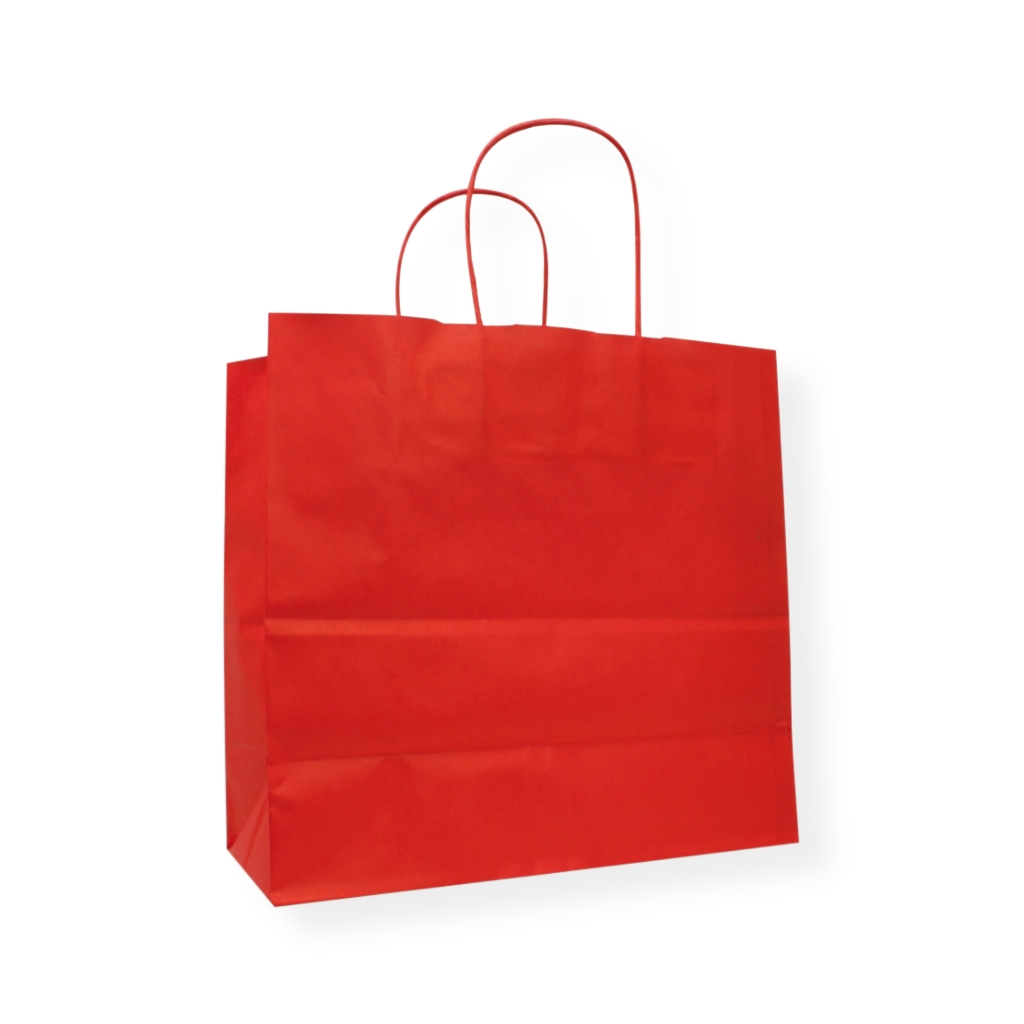 Awesome Bags 420 mm x 370 mm Rood