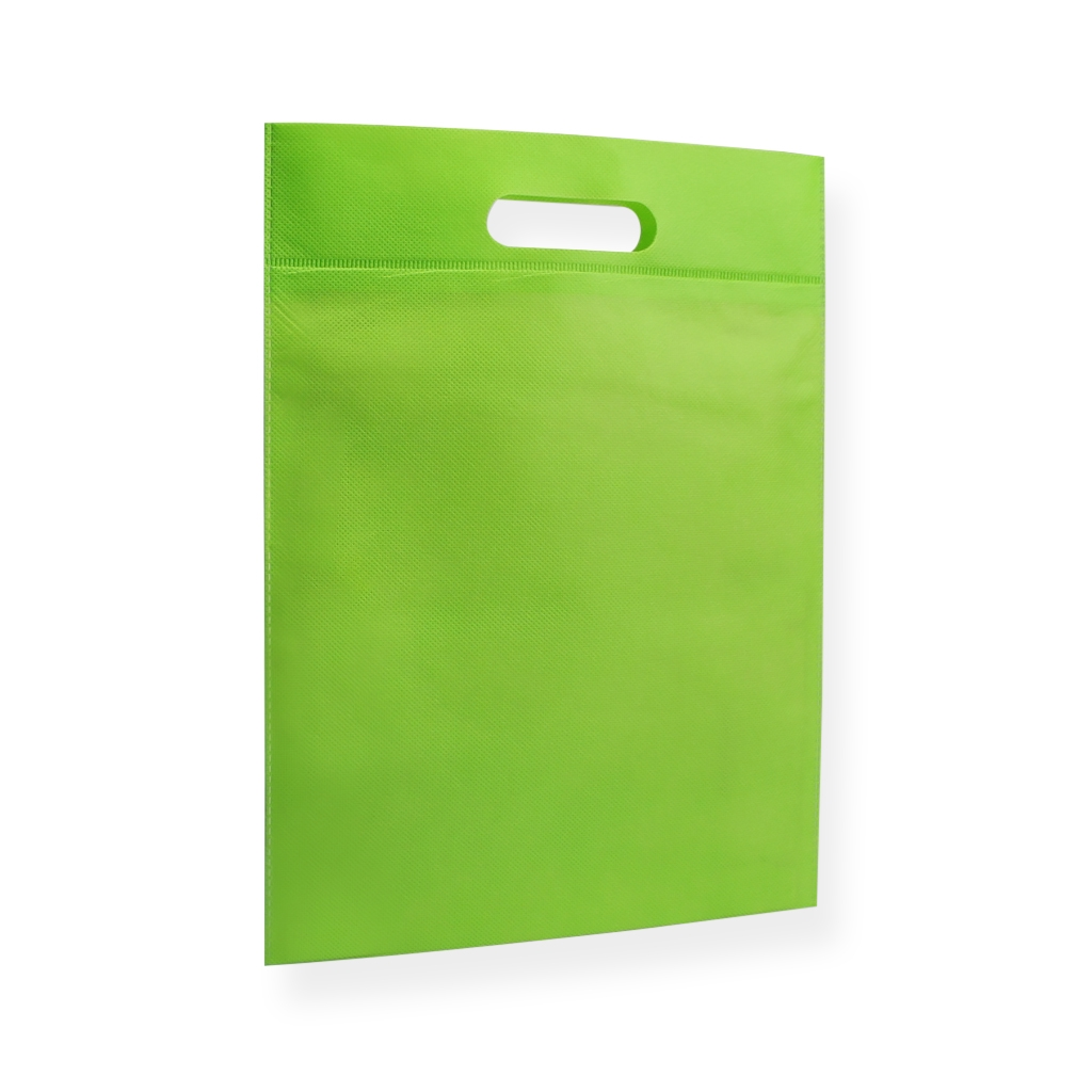 Non Woven Carrier Bags 300 mm x 400 mm Green