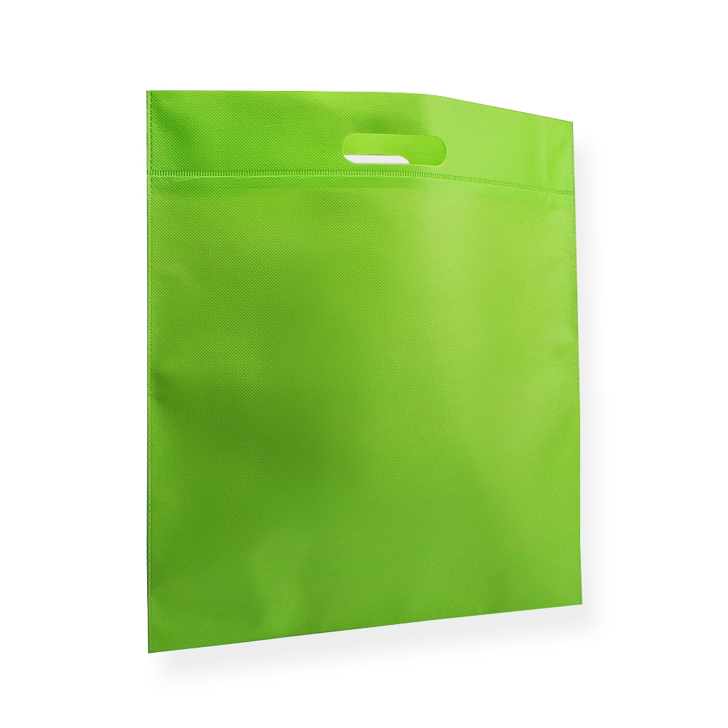 Non Woven Carrier Bags 300 mm x 450 mm Green