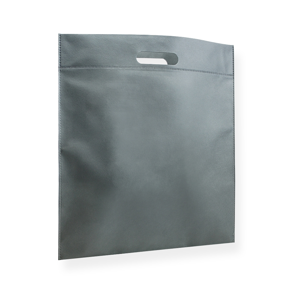 Non Woven Carrier Bags 400 mm x 450 mm Silver