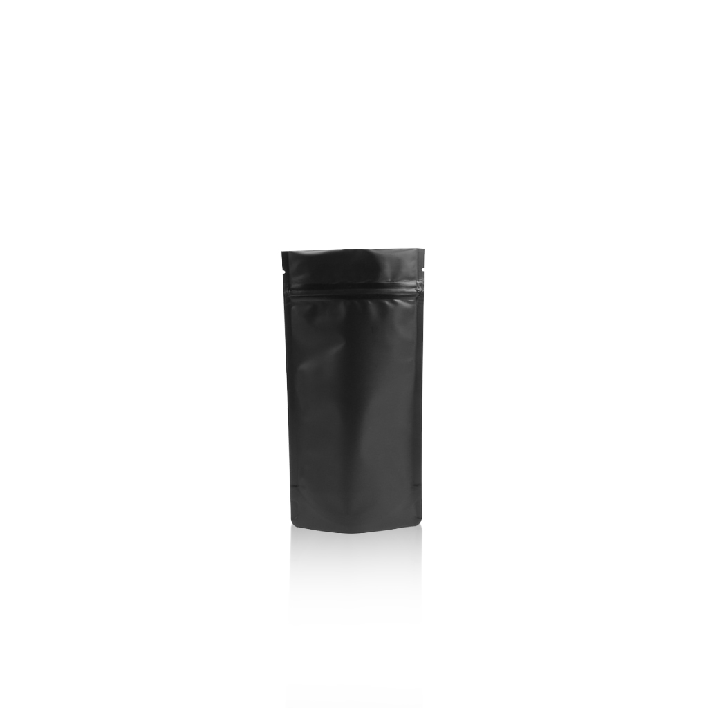 Lamizip Colour Stand Up Pouches 100 mm x 195 mm Black