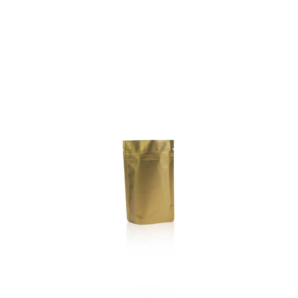 Lamizip Colour Stand Up Pouches 3.74 inch x 5.91 inch Gold