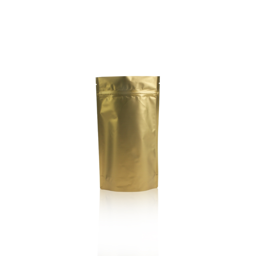 Lamizip Colour Stand Up Pouches 5.51 inch x 9.25 inch Gold