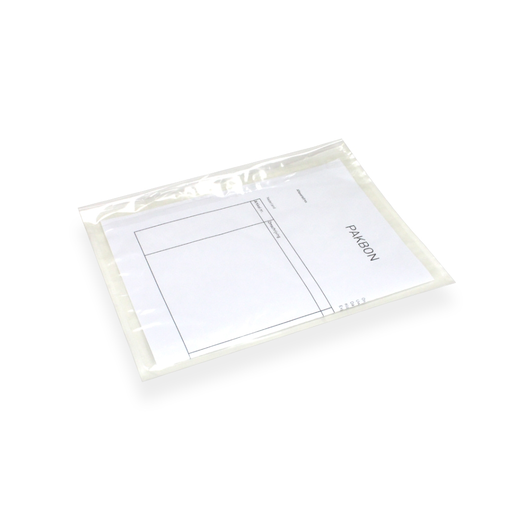 Docubag 225 mm x 165 mm Transparant