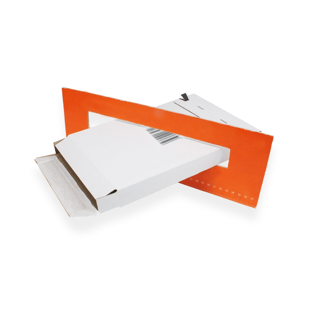 Mailing Box A4/ C4 White