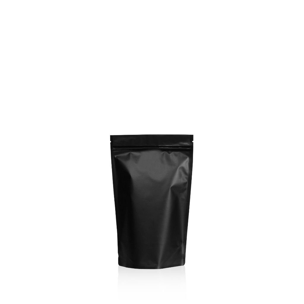 Lamizip Colour Stand Up Pouches 3.74 inch x 5.91 inch Black