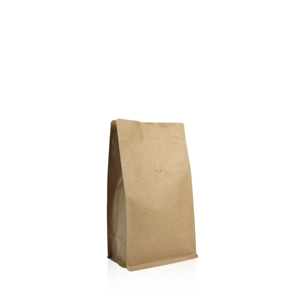 Box pouches 120 mm x 180 mm Brown