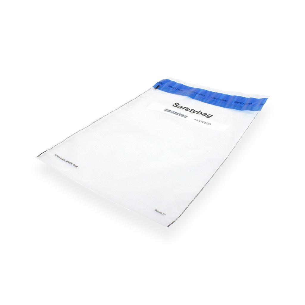 Safetybag Pharma 255 mm x 385 mm Transparant