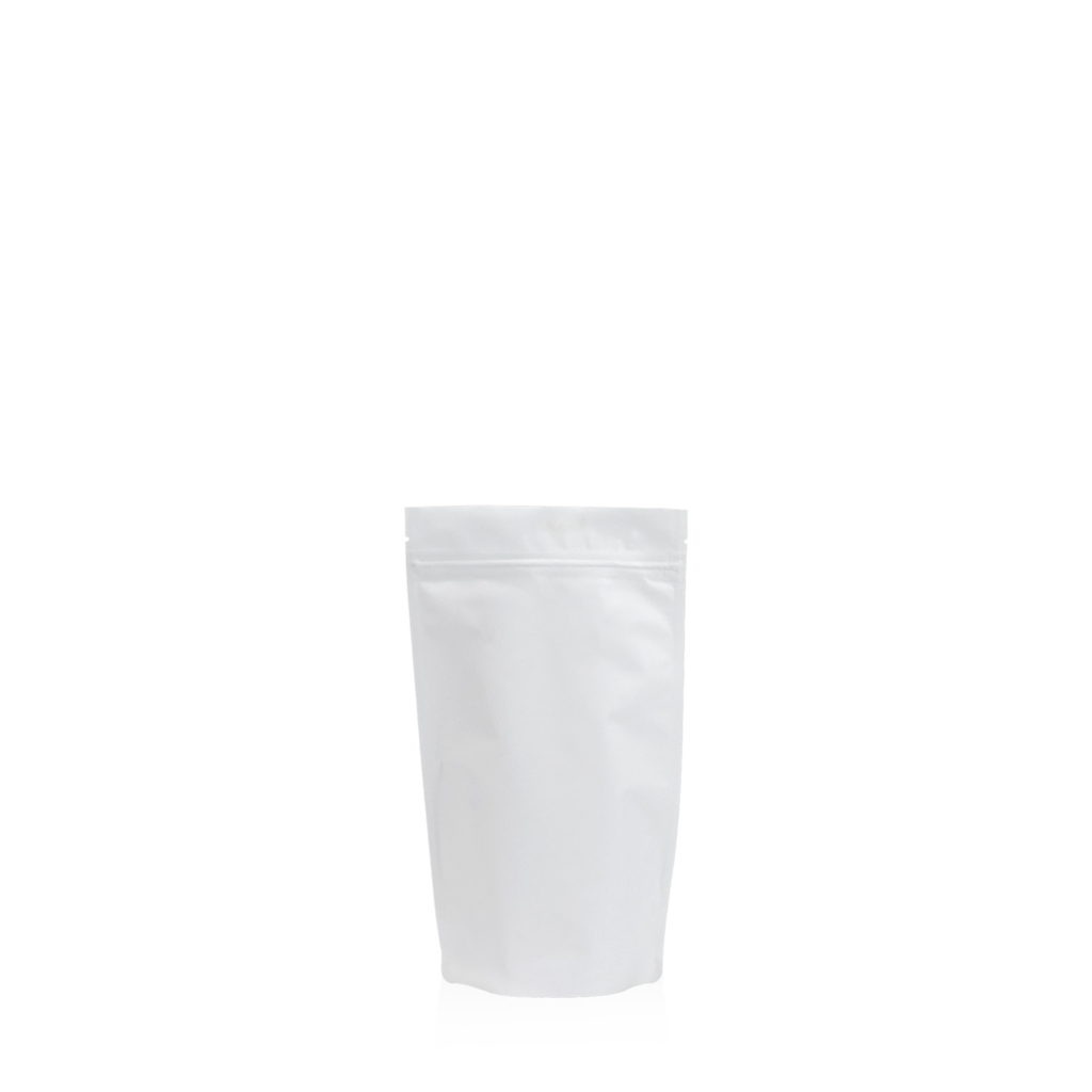 Lamizip Colour Stand Up Pouches 95 mm x 150 mm White