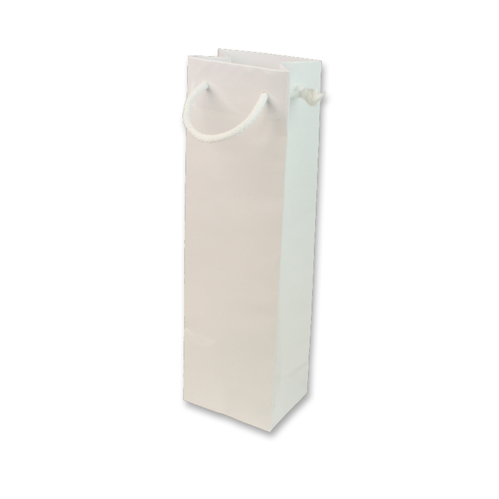 Paper Wine bag 120 mm x 400 mm White