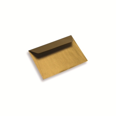 Coloured Paper Envelope A6/ C6 Gold