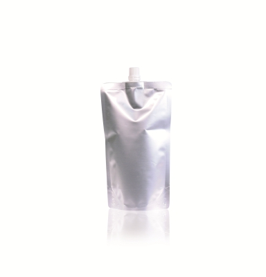 Spoutbag ø10mm (500ml) 120 mm x 205 mm Silver