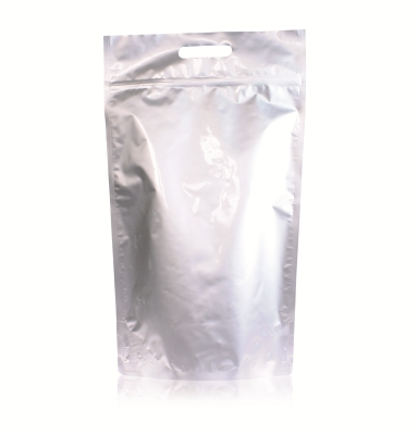 Lamizip Stand Up Pouches 300 mm x 495 mm Silver