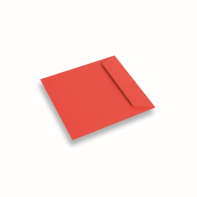 Coloured Paper Envelope Red