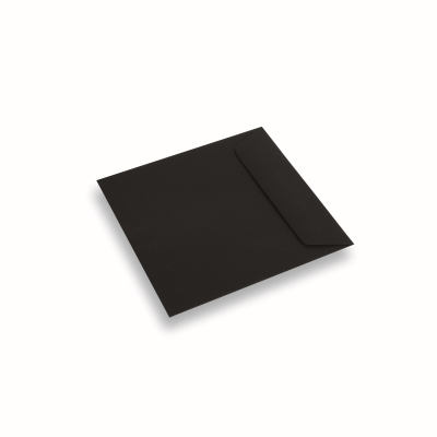 Coloured Paper Envelope Black