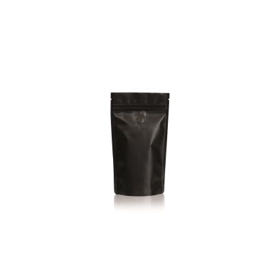 Lamizip Colour Stand Up Pouches 4.33 inch x 6.89 inch Black
