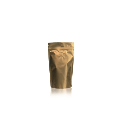 Lamizip Colour Stand Up Pouches 110 mm x 175 mm Gold