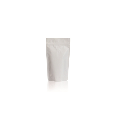 Lamizip Colour Stand Up Pouches 110 mm x 175 mm White