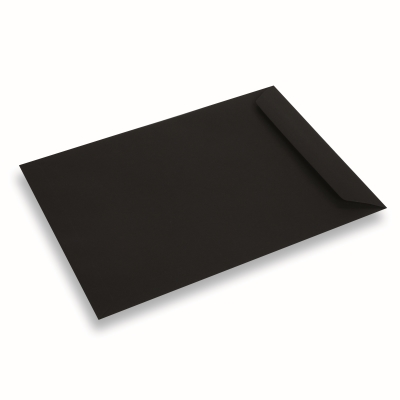 Coloured Paper Envelope A4+ Black