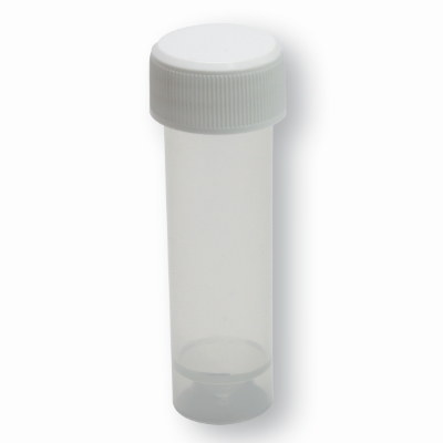 Container 20 mm x 80 mm Transparent