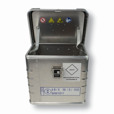 UN Transport Box 300 mm x 400 mm Silver