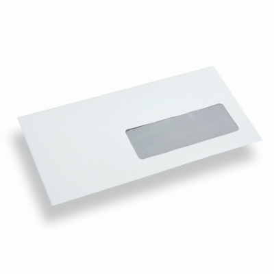 Paper Envelope Window Right Dinlong White