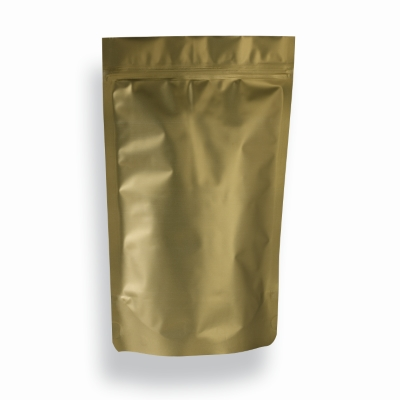 Lamizip Colour Stand Up Pouches 185 mm x 295 mm Gold