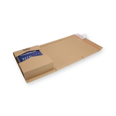 Variable Height Mailing Carton CD Brown