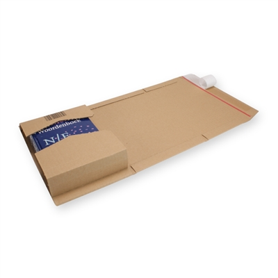 Variable Height Mailing Carton A5+ Brown
