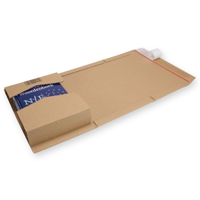 Variable Height Mailing Carton A4/ C4 Brown