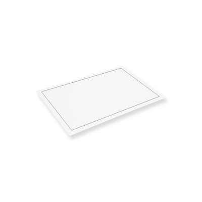 Rouwenvelop 120 mm x 180 mm Wit