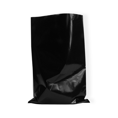LDPE Flat bags 400 mm x 600 mm Black