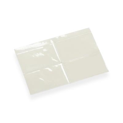 Pochette PVC Adhsive Pour Carte De Visite 60 Mm X 90 Translucide