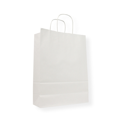 Paper Carrier bag 230 mm x 320 mm White