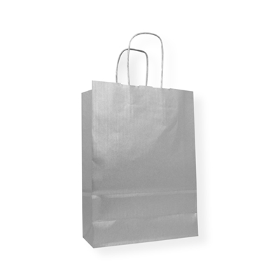 Paper Carrier bag 320 mm x 425 mm Zilver