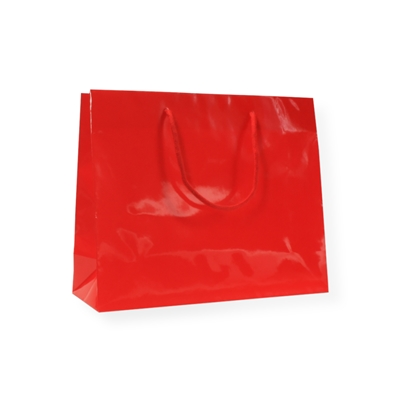 Glossybag 250 mm x 160 mm Red