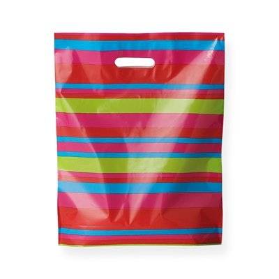 Baggie Carrier Bags 14.96 inch x 17.32 inch Print