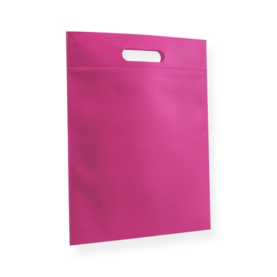 Non Woven Carrier Bags 300 mm x 400 mm Pink