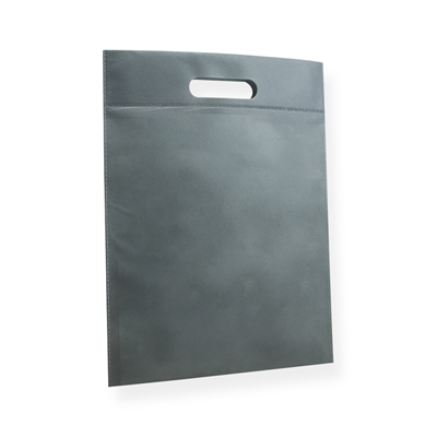 Non Woven Carrier Bags 300 mm x 400 mm Silver