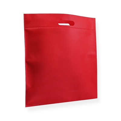 Non Woven Carrier Bags 400 mm x 450 mm Red