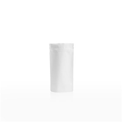 Lamizip Colour Stand Up Pouches 3.94 inch x 7.68 inch White