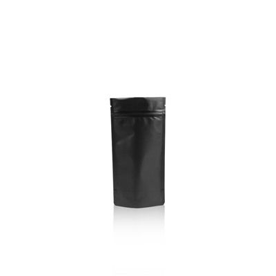 Lamizip Colour Stand Up Pouches 3.94 inch x 7.68 inch Black