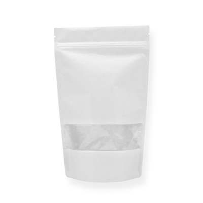 Lamizip Colour Stand Up Pouches 220 mm x 335 mm White